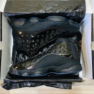 Nike Air Jordan 13 XIII Retro Black Cap and Gown